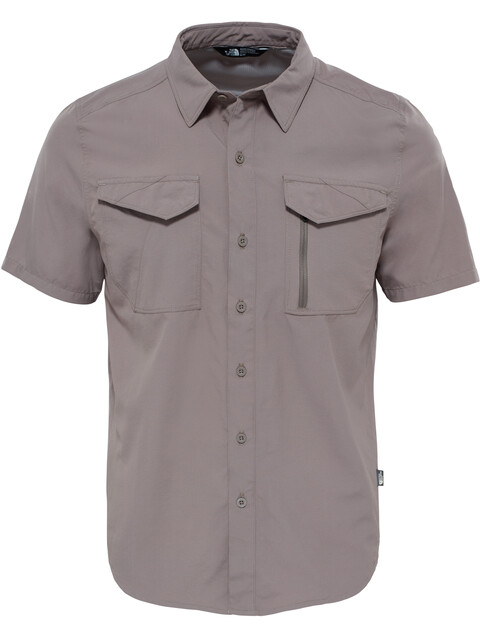 The North Face M's Sequoia S/S Shirt Falcon Brown